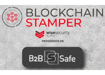 Blockchain Stamper, Wise's technology in B2B Safe