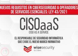 La figura del CISO, obligatoria en España para varios sectores